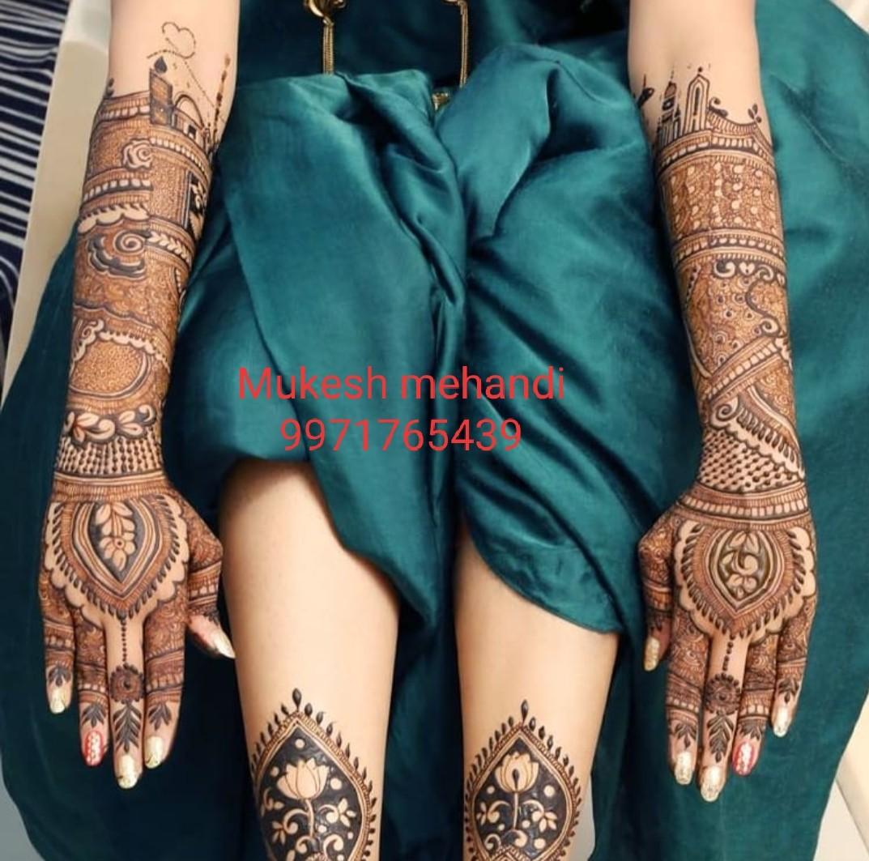 marwari mehandi artists in delhi1